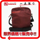 "Prada sport nylon shoulder bag Pochette Bordeaux system s response.""-02P02Aug14"