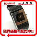 CHANEL matelasse Lady's watch SS X leather black quartz 》 for 《