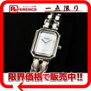 シャネルプルミエールレディース watch S quartz SS white rubber-free H1639 》 for 《