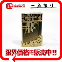 "2 S テー Du Pont-limited collection ""Shanghai"" SHANGHAI line gas cigarette lighter gold X black 16088 》 for 《"