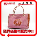 CHANEL suede X enamel camellia large tote bag pink 》 for 《