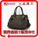 PRADA nylon jacquard 2WAY handbag nylon X レザーフーモ BR4259 》 for 《