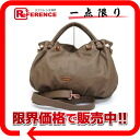 "Folli follie faux leather 2 WAY tote bag Brown of brand new as well ""response.""-02P02Aug14"