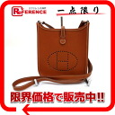 """Evelyn TPM"" Hermes shoulder bag Epson Brown series H engraved ""response."""