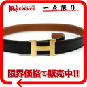 Hermes minicomputer stance H belt reversible 70 box Cafe x slope black x gold gold bracket E ever-s compatible.""