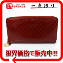 Gucci HEART( heart) シャインマイクロ GG round fastener long wallet dark red 308260 》 for 《