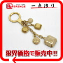 """Louis Vuitton bag charm """"ポルトクレカボション"""" key ring gold X beige system M66461 》 02P02Aug14 for 《"""