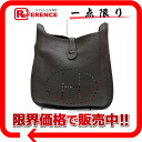 "Hermes Evelyn 1 GM shoulder bag triyoncremans chocolate silver bracket J ticking ""response."""