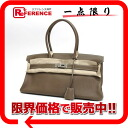 """Shoulder Birkin"" Hermes's bag トリヨンクレマンス エトゥープ silver metal J ticking ""response.""-fs3gm02P05Apr14M"