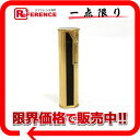 Dunhill roller gas cigarette lighter black X gold 》 for 《