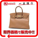 "35 HERMES highest peak handbag ""Birkin"" クシュベルゴールドゴールド metal fittings F 刻未使用 》 for 《"