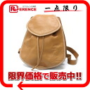 Loewe leather rucksack light brown system 》 02P02Aug14 for 《