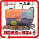 CHANEL satin mini-chain shoulder bag multicolored 》 for 《