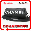 CHANEL sports barrel semi-shoulder bag roll bag black black A24984 》 for 《