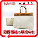 Hermes airbag Cabas GM changing bag with toile GM natural silver fittings G ticking? s support.""