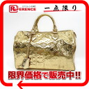 "30 Louis Vuitton monogram Miro Waal ""speedy"" handbag oar (gold) M95272 》 for 《"