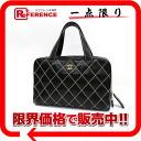 """Chanel calfskin wilds tech handbag black """"response."""""""