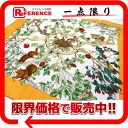 "Hermes silk scarf-""boyfriend"" multi-colored silk scarf AU COEUR DES BOIS (in the forest) ""response.""-02P02Aug14"