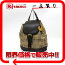 """Burberry classic check backpack beige x Brown? s support.""""02P02Aug14"""