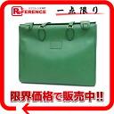 """Hermes """"Hippo GM"""" shoulder tote bag ksh ver Y ever-Green """"response."""""""