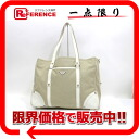 PRADA tote bag canvas X pigskin beige X white BR2859 》 02P02Aug14 for 《