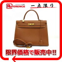 "クシュベルゴールド X gold metal fittings Y 刻 》 with the HERMES handbag ""Kelly 35 sewing shoulder strap out of"" for 《"