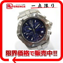"Tag Heuer 2000 exclusive chronograph Seychelles men's watch SS / blue character dial quartz CN111D ""enabled."""