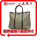 "Gucci GG plus tote bag dark brown 201482 ""enabled."""