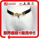 65 エルメスシェーヌダンクルボックスカーフ X software calf belt black Xs natural gold metal fittings Y 刻 》 for 《