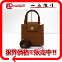 "Bulgari leather 2-WAY handbag amber (Brown) 20166 beauty products ""enabled."" 02P02Aug14"
