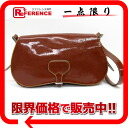 PRADA enamel shoulder bag brown BT0256 》 fs3gm 02P05Apr14M 02P02Aug14 for 《