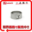 "Louis Vuitton ""Berg-Champs-Elysees"" ring L silver M65457 s correspondence.""02P02Aug14"