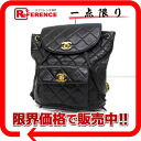 CHANEL lambskin matelasse rucksack navy 》 for 《