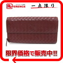 Bottega Veneta intrecciato lambskin two fold round zip long wallet Bordeaux 150509? s support.""