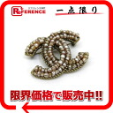 CHANEL 00A CC fake pearl broach gold 》 for 《