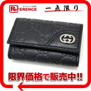 Six gucci gucci sima interlocking grip G ornament key case black 181680-free 》 for 《