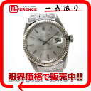 "Rolex Oyster Perpetual Datejust mens watch SS×WG bezel automatic movement ""enabled."""