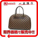 "Louis Vuitton Damier ""nolita"" Boston handbag N41455 s correspondence."""