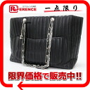 "Chanel lambskin new Mademoiselle bag chain that black A30038 ""enabled."""