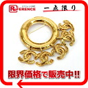 Five CHANEL 94P here mark broach gold 》 for 《