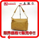 CHANEL software caviar skin here mark semi-shoulder bag beige 》 for 《