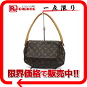 "Louis Vuitton monogram shoulder bag ""mini-looping"" M51147 》 02P02Aug14 for 《"
