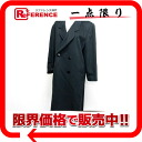 Cashmere long coat Lady's L black 》 for 《