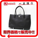 "Like Chanel calfskin 2WAY Tote Bag Black A15206 new ""support."""