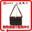 シャネルバニティ type chain handbag brown 》 for 《
