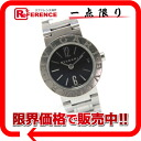 BVLGARI BVLGARI BVLGARI Lady's watch SS quartz black carbon clockface BB23SS 》 for 《