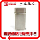 "Cartier oval cigarette lighter steel finish silver CA120116 ""response.""-02P02Aug14"
