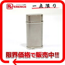 Cartier Oval gas cigarette lighter steal finish silver CA120116 》 for 《
