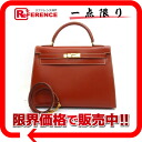 "ボックスカーフブリュックゴールド metal fittings WO 刻 》 fs3gm 02P05Apr14M with the HERMES handbag ""Kelly 32 sewing shoulder strap out of"" for 《"