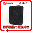 Two CHANEL Paris New York carrier bag wrinkle processing nylon X leather black 》 for 《
